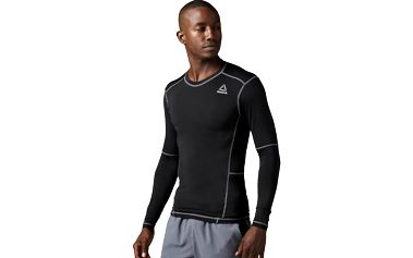 Reebok Workout Ready Compr Lo Sleeve Solid XL