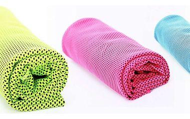 Chladící ručník ve třech barvách