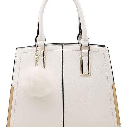 Bílá kabelka Suzana