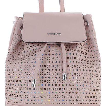 Světle růžový batoh Hidden Rainbow
