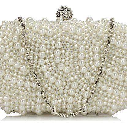 Smetanová kabelka Pearl Bag