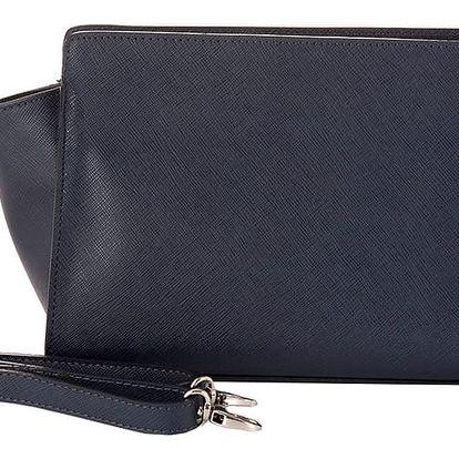 Tamvě modrá kabelka z pravé kůže Andrea Cardone Maria - doprava zdarma!