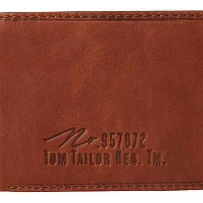 Pánská hnědá peněženka Tom Tailor Gary