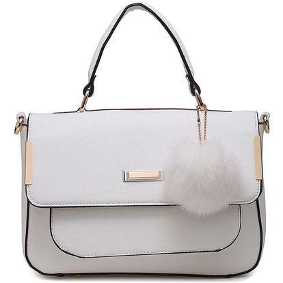 Bílá kabelka Richa