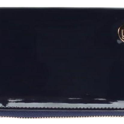 Tmavě modrá peněženka Mi-Pac Zip Purse Patent