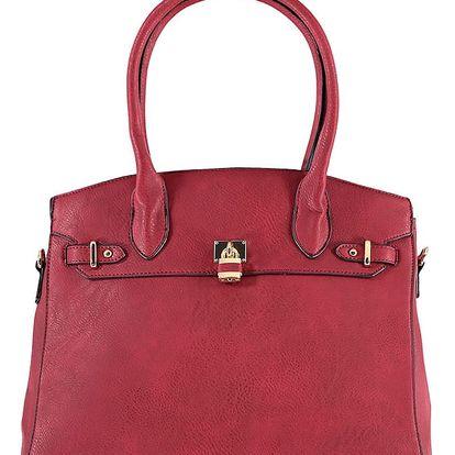 Červená kabelka Miracle
