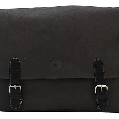 Černá taška Mi-Pac Messenger Canvas