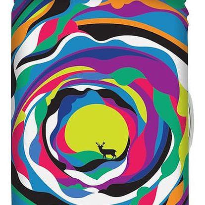 Vícebarevný potah na kufr Steven Wilson Psychedelic