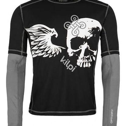 Pánské tričko KILPI EXPLOSION-M černá XL