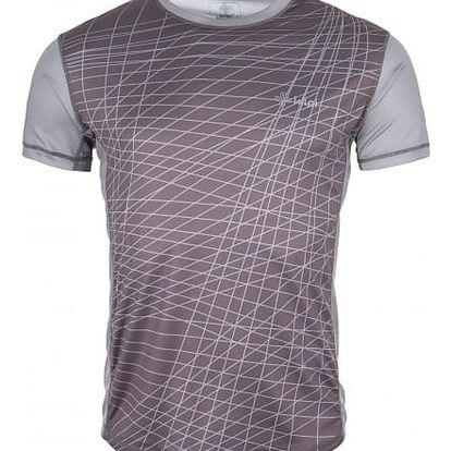 Pánské technické tričko KILPI RAINBOW-M Šedá M