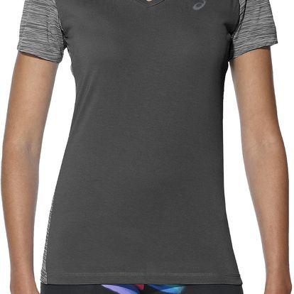 Dámské běžecké tričko Asics fuzeX V-Neck SS Top XS