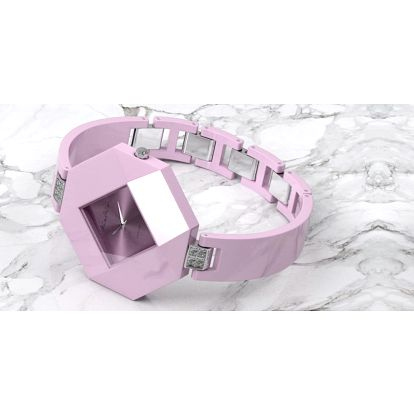 Luxusní dámské hodinky s keramickým páskem