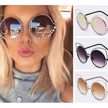 Výrazné dámské sluneční brýle Catty