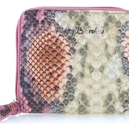 Béžovo-růžová peněženka Betty Barclay BB-1133-IN