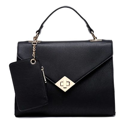 Černá kabelka Pretina