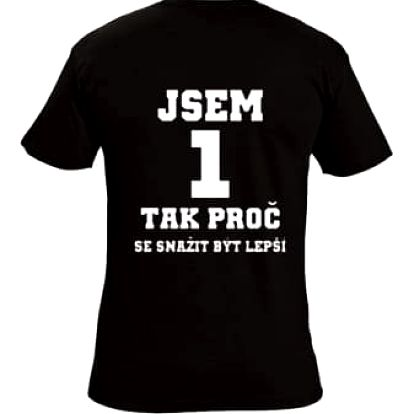 Tričko - Jsem 1 - L
