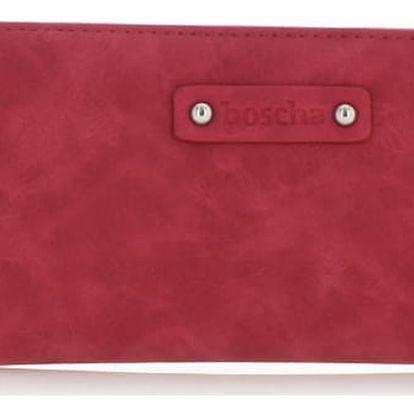 Červená peněženka Boscha BO1052