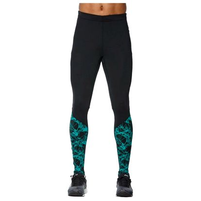 Pánské běžecké kalhoty Asics fuzeX Graphic Tight XL
