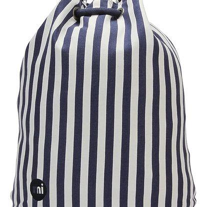Modro-bílý batoh Mi-Pac Seaside Stripe