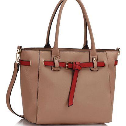 Béžová kabelka Garbo