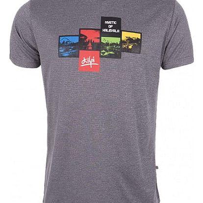 Pánské technické tričko KILPI GIACINTO černá XL