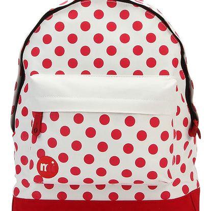 Krémově-červený batoh Mi-Pac All Polka