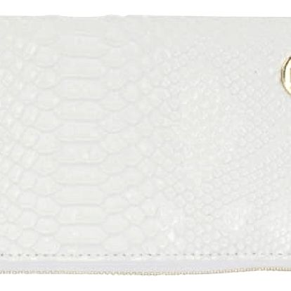 Bílá peněženka Mi-Pac Zip Purse Patent Python