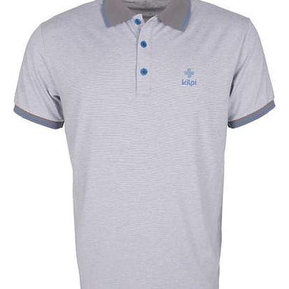 Pánské polo tričko KILPI BAUMER šedá s