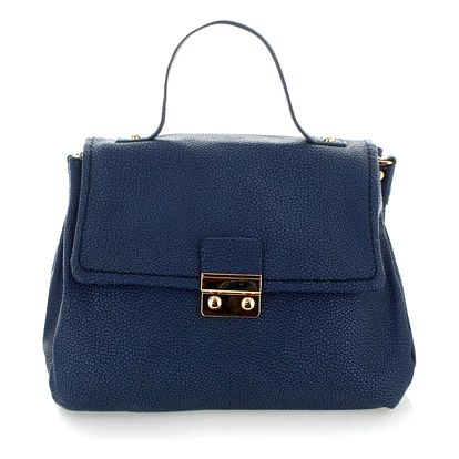 Tmavě modrá kabelka Jurin