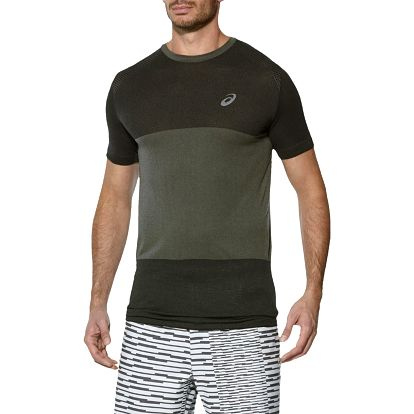 Pánské běžecké tričko Asics fuzeX Seamless SS S