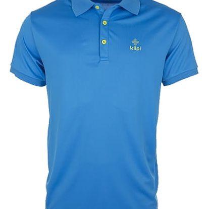 Pánské technické polo tričko KILPI JOHAN modrá s