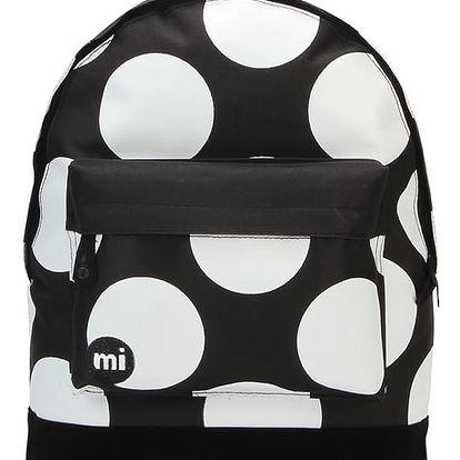 Černo-bílý batoh Mi-Pac Polka XL