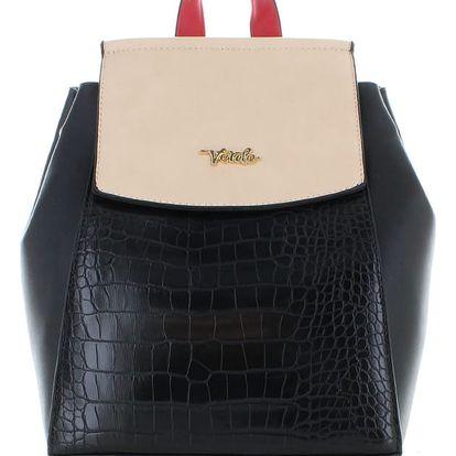 Černo-béžový batoh Lorain