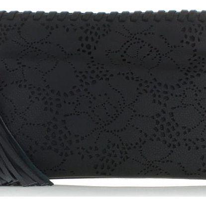 Černá kabelka Flowery