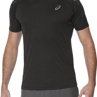 Pánské běžecké tričko Asics Stripe SS Top L