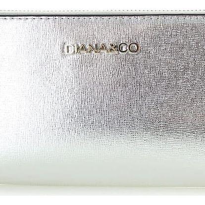 Stříbrná peněženka Shiny