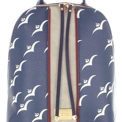 Tmavě modrý batoh Seaside Summer