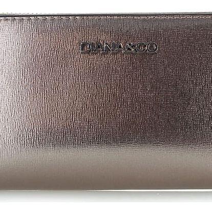 Tmavě šedá peněženka Shiny