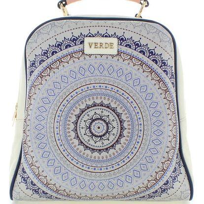 Bílý batoh Arabesque Pattern