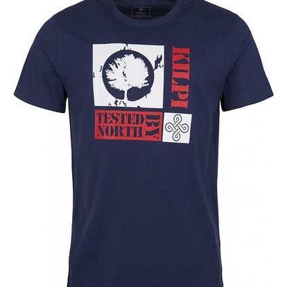 Pánské tričko KILPI TREE-M Tmavě modrá XL