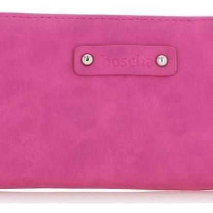 Fuchsiová peněženka Boscha BO1052