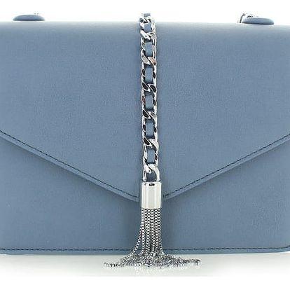 Modrá kabelka Flamena
