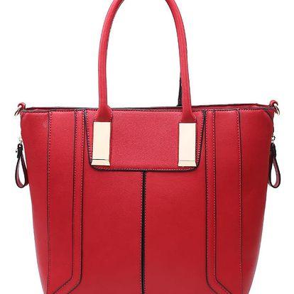 Červená kabelka Pura
