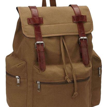 Hnědý ruksak Herman