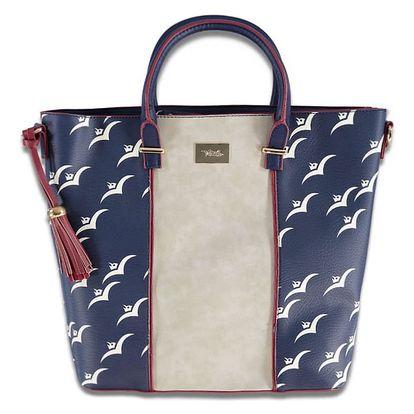 Tmavě modrá kabelka Seagulls