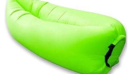Nafukovací vak Lazy bag - zelená
