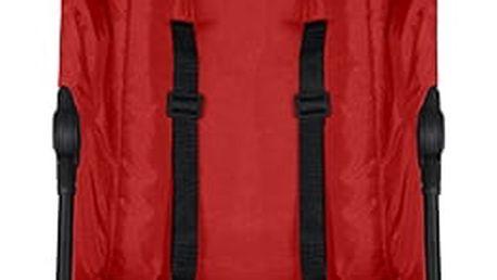 KOELSTRA Twiggy T3 Golfový kočárek + Pláštěnka – Red