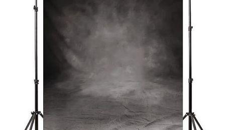 Ateliérové fotopozadí 1,5 x 3 m - Černošedá vinětace