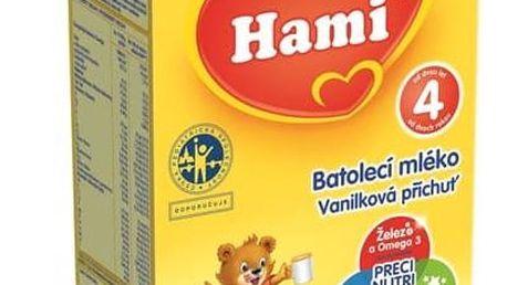 Kojenecké mléko Hami 4 Vanilka, 500g