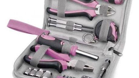 Extol Craft 6595 Lady 23 dílů - Růžová sada nářadí pro ženy